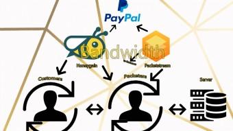 Make money by bandwidth!