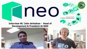 NEO 3.0 Oct 2019 - Making Life Easier for Crypto & Blockchain Developers W/John deVadoss