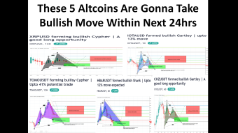 These 5 Altcoins Are Gonna Take Bullish Move Within Next 24hrs