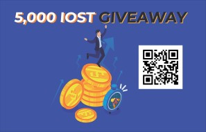 5,000 IOST GIVEAWAY