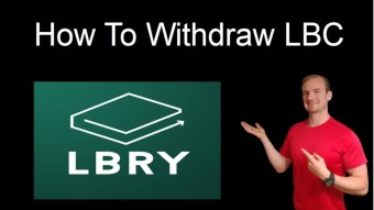 How To Withdraw LBC from LBRY
