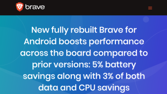 Brave for Android is fully rebuilt!