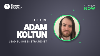 Know The Coin: QRL Foundation Lead Business Strategist Adam Koltun