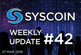 Syscoin Weekly Update #42