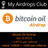 Bitcoin Oil Airdrop