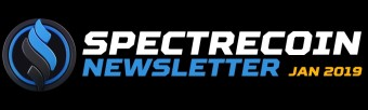 Spectrecoin Official Monthly Newsletter (December 2018)