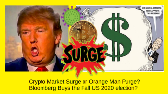 Crypto Market Surge or Orange Man Purge? Likely, Post Fall US 2020 election...