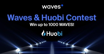 Waves Platform and Huobi Global are launching a contest, with prizes in WAVES tokens.