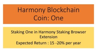How to stake / delegate Harmony coin ONE - part 1