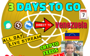 3 Days Until Our Charity Day To Help Starving Children In Venezuela!