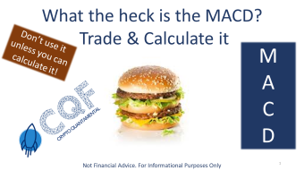 WTF is the MACD? Learn to Trade and Calculate it like the pros!