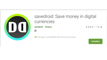 Savedroid Crypto App: Making a Wish inside the App