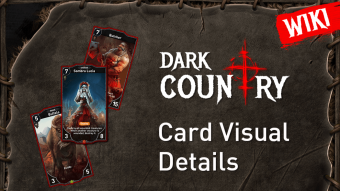 Starting a Dark Country WIKI: Card visual details