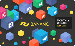 BANANO Actualización Mensual, Julio 2019