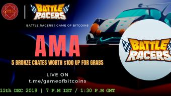 AMA Recap - Battle Racers x Game of Bitcoins