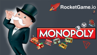Monopoly on TRON Network DAap game platform RocketGame