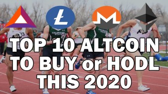 Top 10 Altcoins to BUY and HODL this 2020