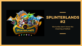 We turtles don't know the meaning of defeat || Ep. #2 || Splinterlands