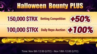 Bounty Plus TronUp - 250 000 TRX
