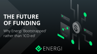 The Future of Funding? Why Energi 'Bootstrapped' rather than 'ICO-ed'
