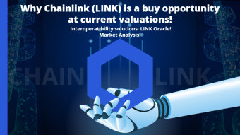 Why CHAINLINK (LINK) is a STRONG buy opportunity at current valuations! Interoperatibility solutions: LINK Oracle! Market Analysis!