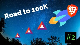 Road to 100K BAT (#2): The Great Twitter Referral Blitz