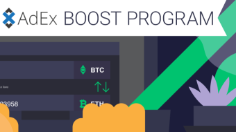 Earn Crypto and Get Free Promotion with ChangeNOW & AdEx!