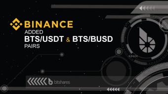 BINANCE adds new BTS/Stablecoin Pairs