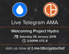 The Project Hydro AMA at DBCRYPTO
