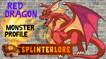 Splinterlands Legendary Card Profile - Red Dragon