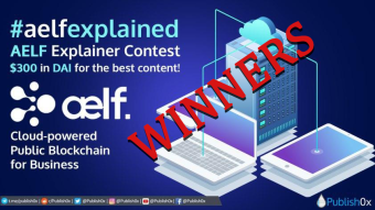 aelf Writing Competition Winners Announced