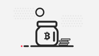 Bitcoin Jar (with Mode) | 5% Compounding interest plus a €10/£10 Bonus