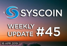 Syscoin Weekly Update #45