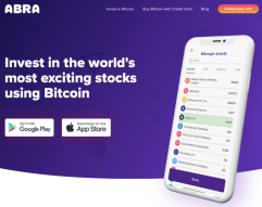 The Abra App - Buy Stocks And ETF's With Bitcoin Without KYC! Poor Or Rich? Financial Services Now Available For Everyone!