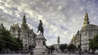Portuguese Squares - Aliados Avenue, Porto