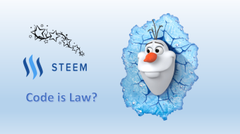 Blockchain Governance, Szabo's Law & Justin Sun's Frozen Steem!