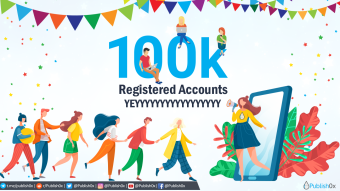 Publish0x Reaches 100k Accounts! Celebration: $200 in DAI Prizes and 30% Bigger Rewards for a Week!