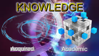 The Nature Of Acquired and Academic Knowledge