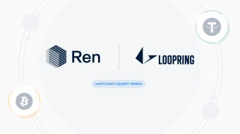 renBTC Liquidity Mining on Loopring Exchange