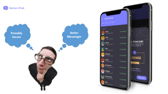 Sensechat – The provably secure WhatsApp alternative on EOS