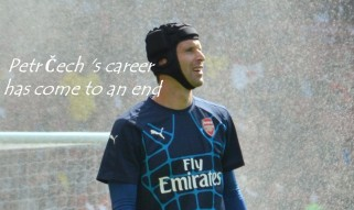 Petr Čech hanged his helmet on the nail