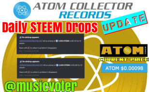 More STEEM For ATOM Hodlers. Token Creators - Would You Like Us To Airdrop Your Tokens?