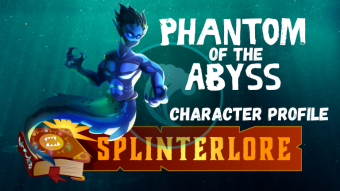 Splinterlands Legendary Card Profile - Phantom of the Abyss