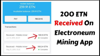 Mine CryptoCurrency Using Your Mobile