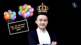 Justin Sun just planned massive freezing of user assets on the Steem blockchain