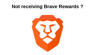 Brave Rewards not working? Download the latest version and problem solved.