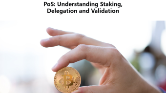 PoS: Understanding Staking, Delegation and Validation