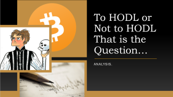 Hodl, Sell or Consolidate? | Analysis