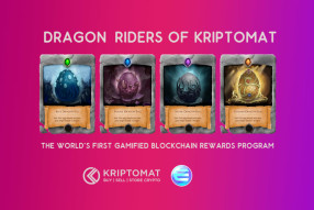 Riders of Kriptomat – The World's First Gamified Rewards Program