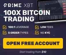 Make some bitcoins on Prime XBT